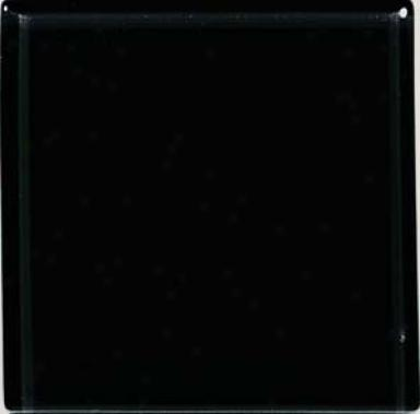 Crossville Brilliante Glass 3 X 3 Black Diamond Tile & Stone