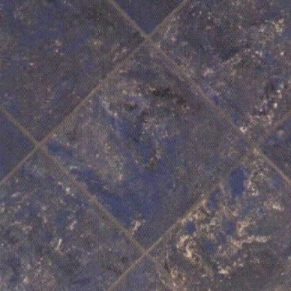 Crossville Empire 14 X 14 Polished Napoleon Blue Po Tile & Stone