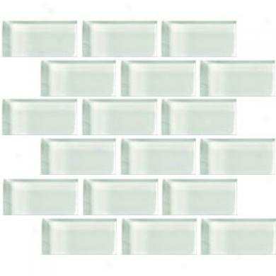Crosvslle Glass Blox Brick 2 X 4 Mosaic Moonbeam Tile & Stone