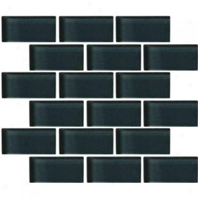 Crossville Glass Blox Brick 2 X 4 Mosaic North Sea Tile & Stone