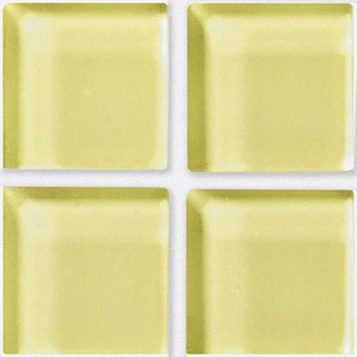 Crossville Glasss Blox Inlaid Lemon Zest Tile & Stone
