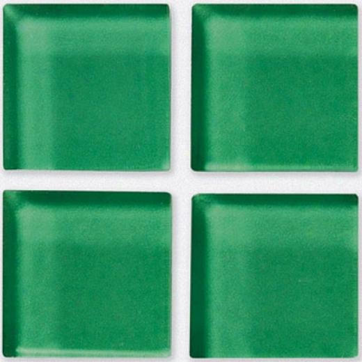 Crossville Glass Blox Mosaic Green Glow Tile & Stone