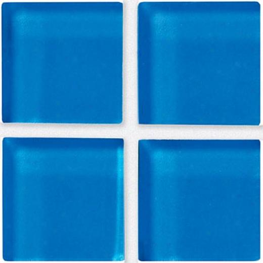 Crossville Glass Blox Mosaic Blue Grotto Tile & Stone