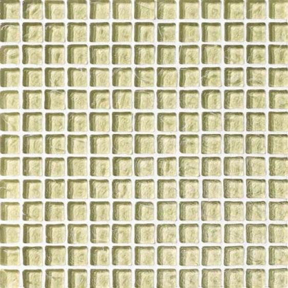 Crossville Illuminessence Take in ~ Crystal Mosaic Seafoam Clear Tile & Stone