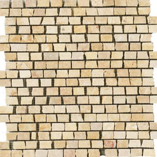 Crossville Muse Single Stone Mosaic Plato Golden Tile & Stone