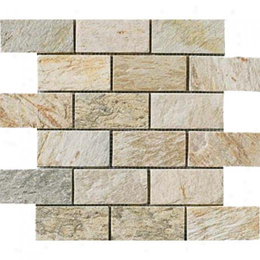 Crossville Oracle Brick Mosaic 2 X 4 Quartz Tile & Stone