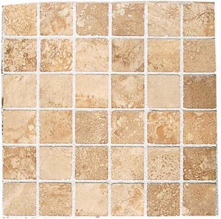 Crossville Tuscania Mosaic 2 X 2 (13x13) Cortona Crema C000755