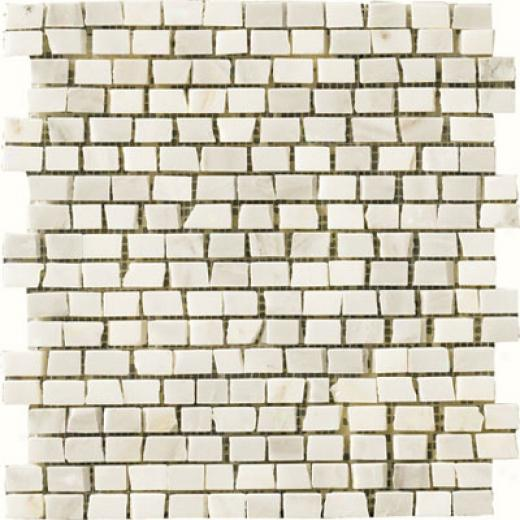 Crossville Unicorn Single Rock Mosaic White Tile & Stone