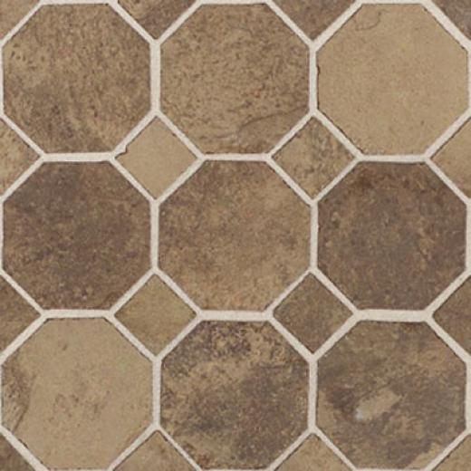 Daltile Aspen Lodge Octagon/dot Mosaic Cotto Mist Tile & Stone