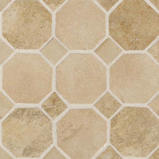 Daltile Aspen Lodge Octayon/dot Mosaic Morning Breeze Tile & Stone