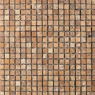 Daltile Champagne Gold Mosaic 5/8 X 5/8 Champagne Gold Tile & Stone