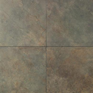 Daltile Continental Slate Mosaic Block Random (12 X 12) Brazilian Green Tile & Stone