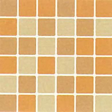 Dzltile Design Porcelaln Unpolished Mosaic Blend Realgarm, Pietra Di Sole & Zolfo Tile & Stone