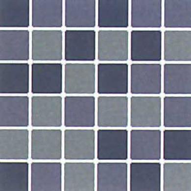 Daltile Design Porcelain Unpolished Mosaic Blend Blu Avio, Zaffiro & Azzurite Tile & Stone