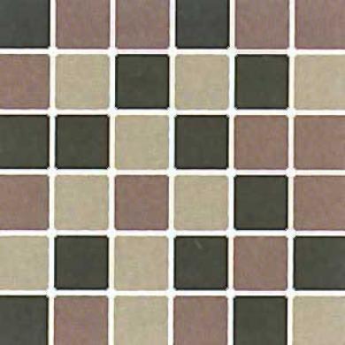 Daltile Design Porcelain Unpolished Mosaic Blend Pietra Di Lunw, Black & Adualria Tile & Stone