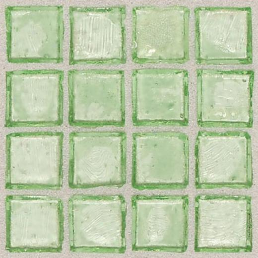 Daltile Egyptian Glass Mosaics 1 X 1 Clear Palm Tile & Stone