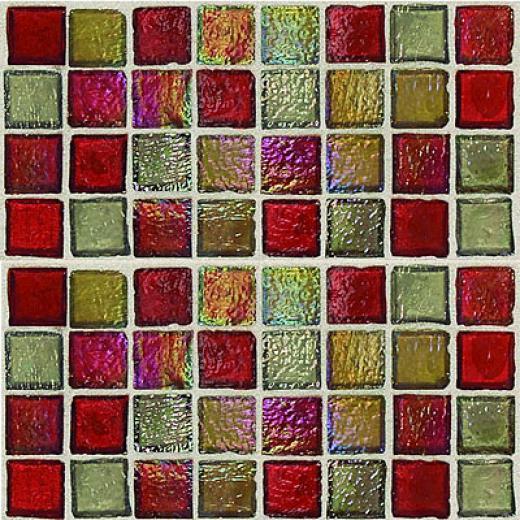Daltile Egyptian Glass Mosaics Blemds Garnrt Gallery Tile & Stonw