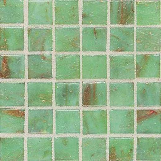 Daltile Elemental Glass Mosaic Celadon Tile & Stone