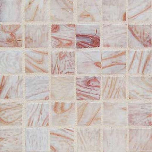 Daltile Elemental Glass Mosaic Cohch Shell Tile & Stone
