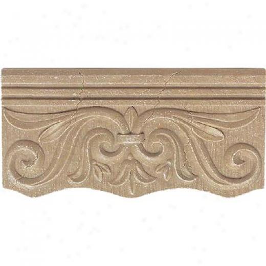 Daltile Fashion Accents Romanesque Fa79 Nocino Cornice Tile & Stone