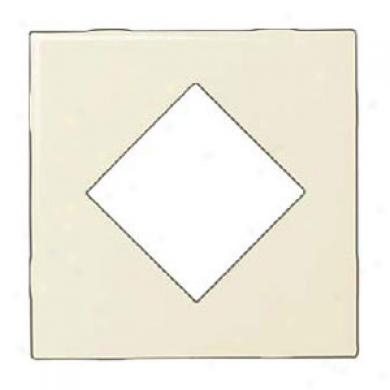Daltile Fashion Accents Semi-gloss Inserts Diamond Almond 4 X 4 Tile & Stone