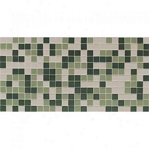 Daltile Keyetones Blends Mosaic 1 X 1 Forest Blend Tile & Stone