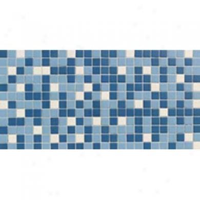 Daltile Keystones Blends Mosaic 1 X 1 Blue Blend Tile & Stone