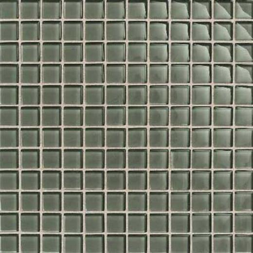 Daltile Maracas Glass Mosaics - Frosted Oak Moss Tile & Stone
