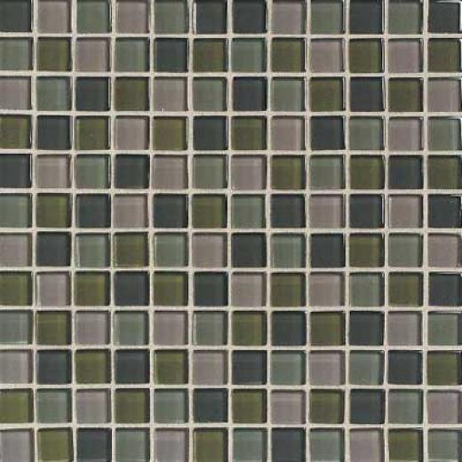 Daltile Maracas Glass Mosaics - Frosted Blend Everglades Tile & Stone