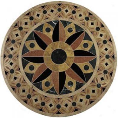 Daltile Medallion Round 42 Arbor Quick 42 Tile & Stone