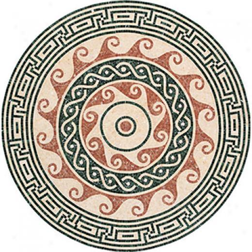 Daltile Medallions Stone Pennacchino Polishrd Tile & Stone