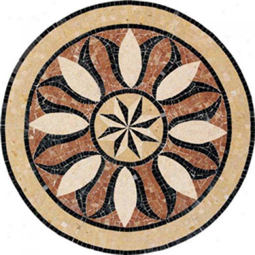 Daltile Medallions Stone Bussola Polished Tile & Stone