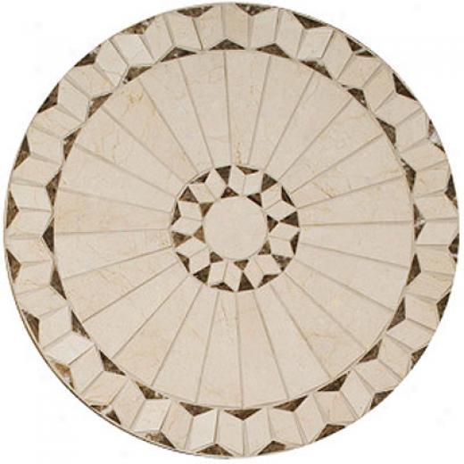 Daltil3 Medallions Tumbled Stone Arcturus Tile & Stone