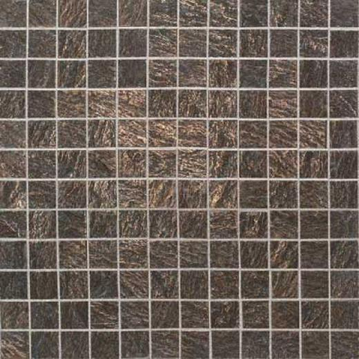Daltile Metal Ages Mosaic 1 X 1 Clefted Bronze Tile & Stone