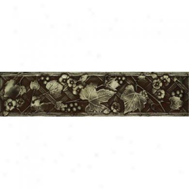 Daltile Metal Signatures Trellis Aged Iron Liner 3 X 12 Ms10 312decob1pp