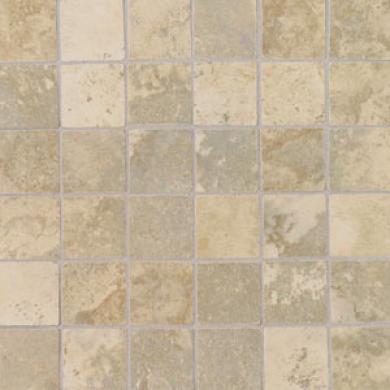 Daltile Pietre Vecchie Tumbled Mosaic Chmpagne Tile & Stone