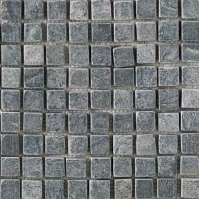 Daltile Silver Gray Mosaic 1 X 1 Silver Gray Tile & Stone
