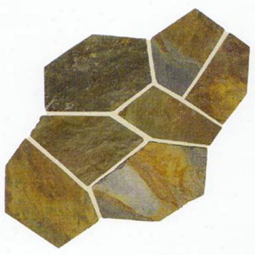 Daltile Slate Collectiom - Imported 16 X 16 California Gold Tile & Stone