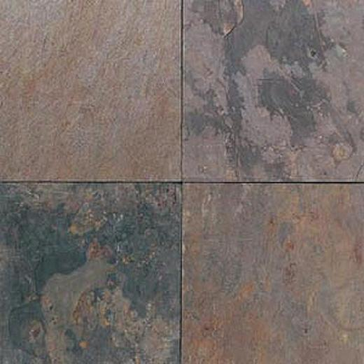 Daltile Slate Collection Indian Multicolor Pattern Indian Multicolor Pattern Tile & Stone