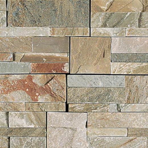 Daltile Slate Stacked Stone Golden Sun Tile & Stone
