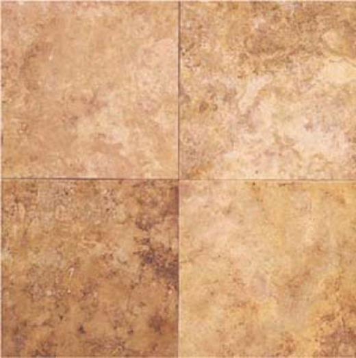 Daltile Travertine Natural Stone Honed 12 X 12 Coral Travertine Tile & Stone