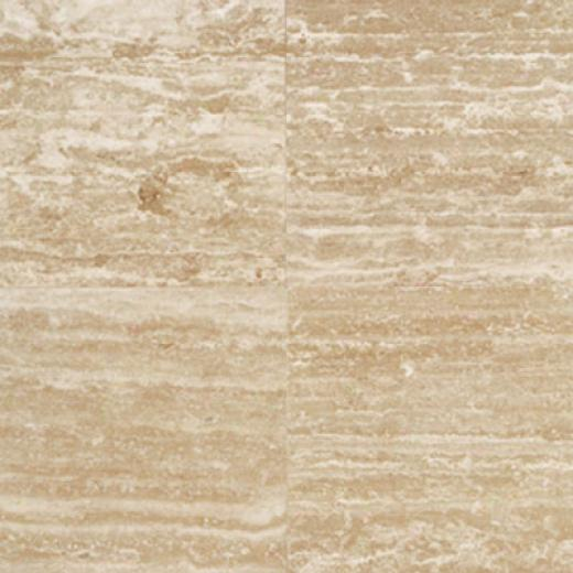 Daltile Travertine Natural Stone Burnished 12 X12 Roman Travertine Tile & Stone