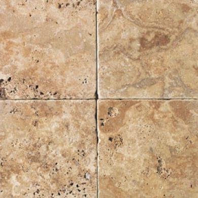 Daltile Tumbled Natural Stone 6 X 6 Sienna Gold Tile & Stone