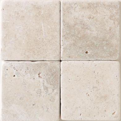 Daltile Tumbled Essential Stone 12 X 12 Baaj Cream Tile & Stone