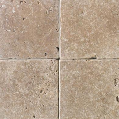 Daltile Tumbled Natural Stone 12 X 12 Antalya Dark Tile & Stone
