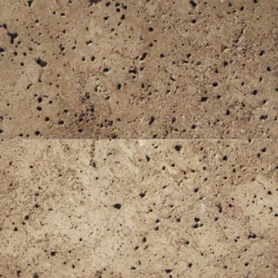Daltile Tumbled Natural Stone 4 X 4 Walnut Tile & Stone