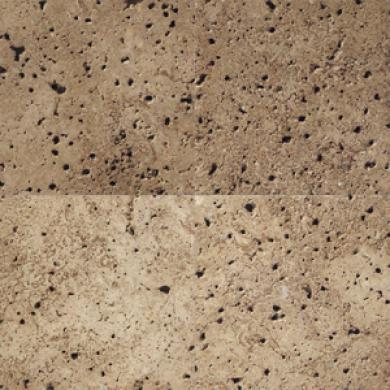 Daltile Tumbled Natural Stone 6 X 6 Walnut Tile & Stone