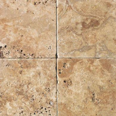 Daltile Tumnled Regular Stone 16 X 16 Sienna Gold Tile & Stone