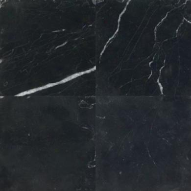Daltile Tumbled Natural Stone 4 X 4 Midnight Tile & Stone