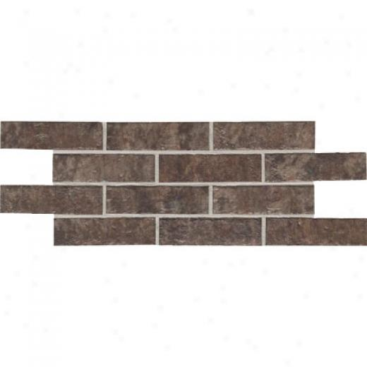 Daltile Union Perpendicular 4 X 8 Cobble Brown Tile & Stone